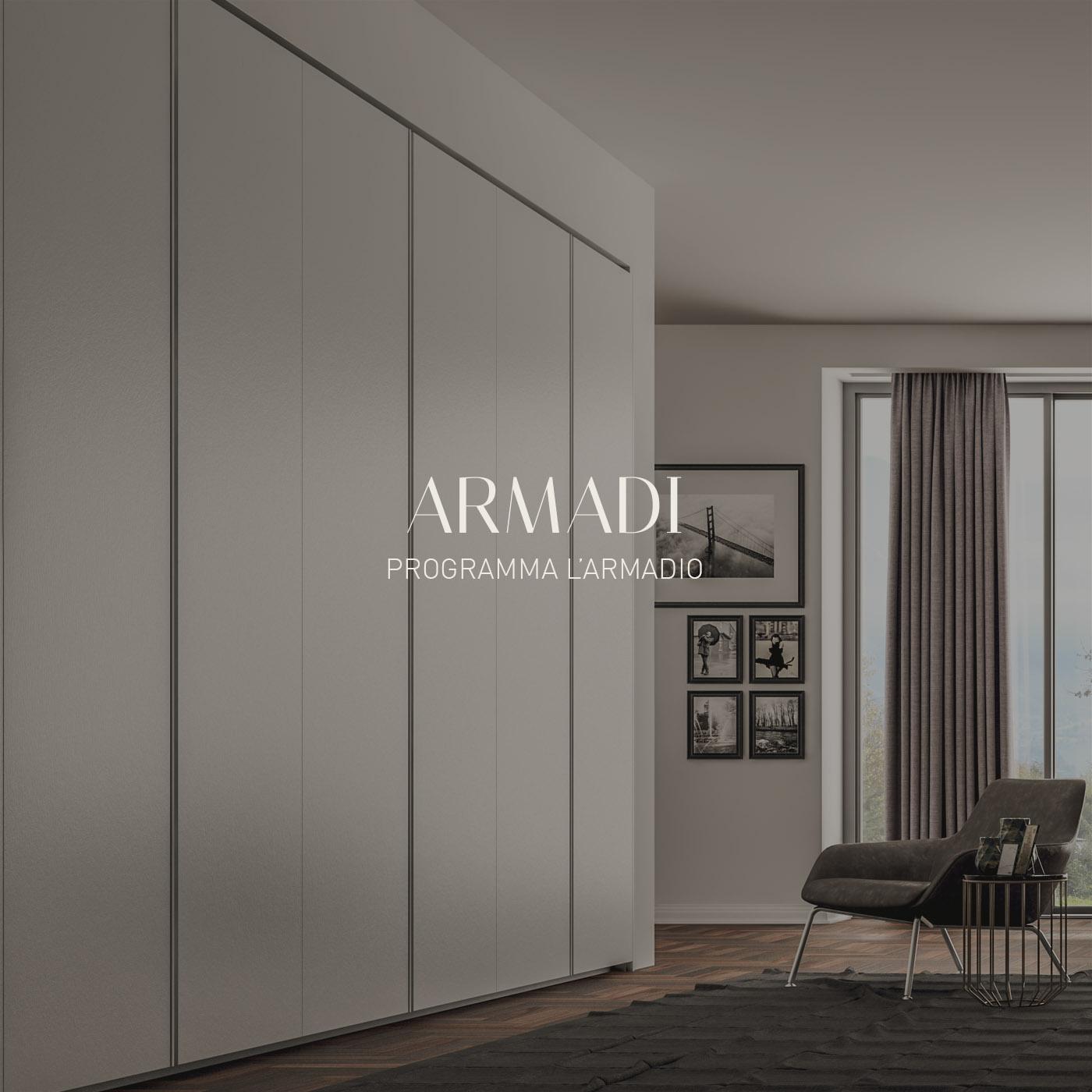 Fimes armadi di design letti moderni e complementi per for Armadi di design